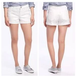 "OLD NAVY 3"" THE BOYFRIEND DENIM SHORT CUFFED"